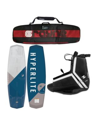 Hyperlite Vapor 2020 Wakeboard Package With Agent Bindings
