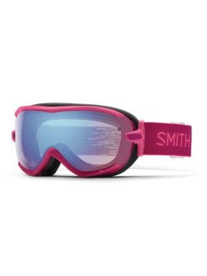 Smith Women's Fuchsia Static Goggle w/Blue Sensor Lens